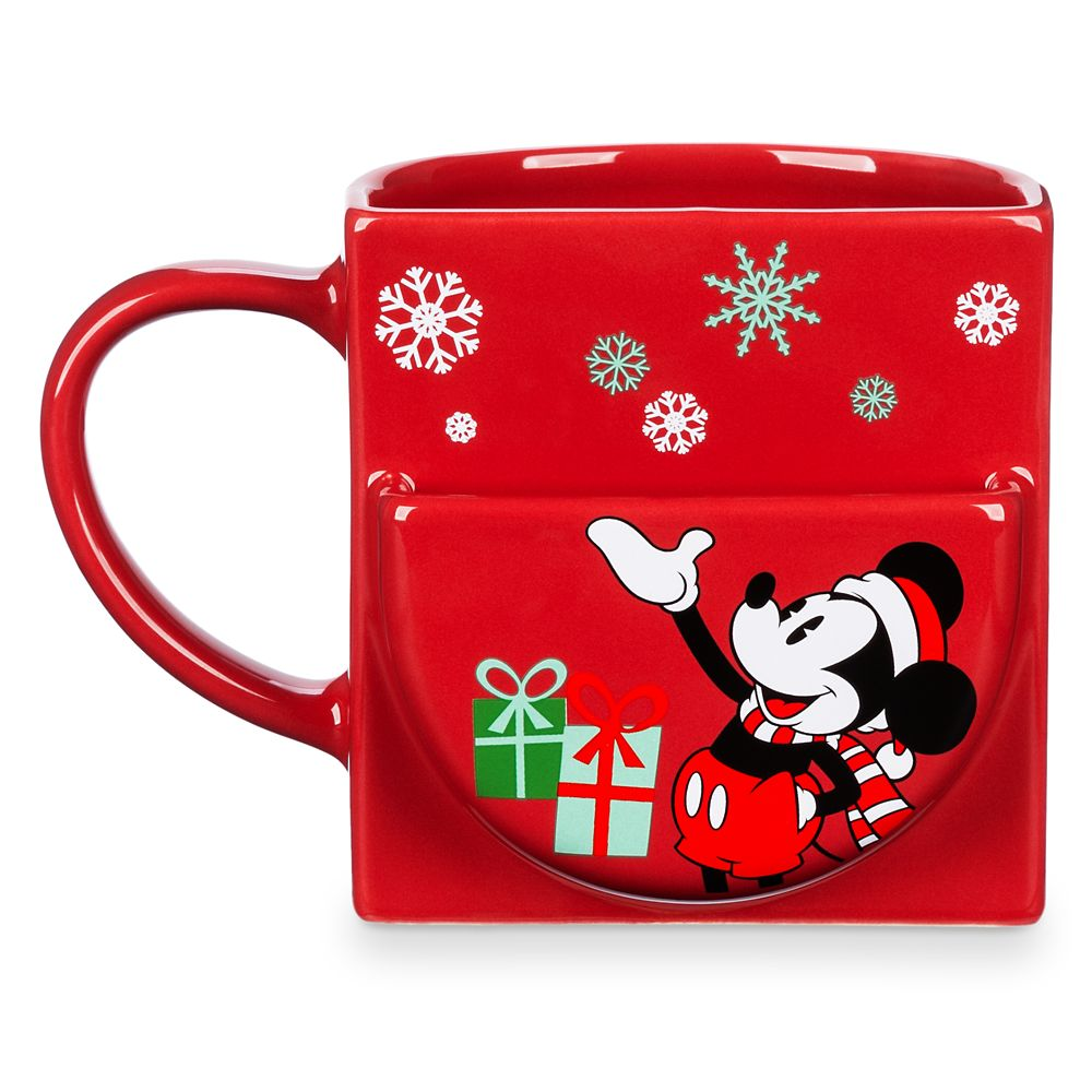 Mickey Mouse Holiday Cookie Holder Mug