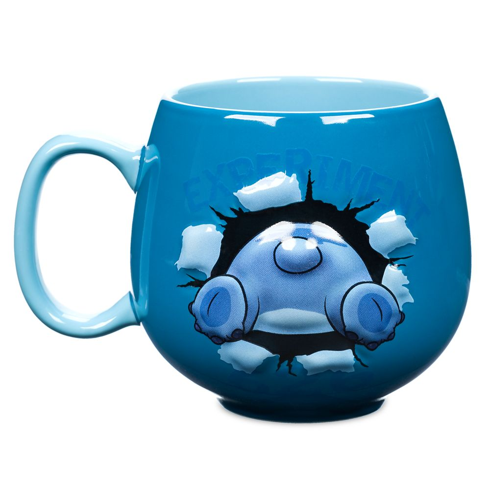 Stitch Sculpted Mug