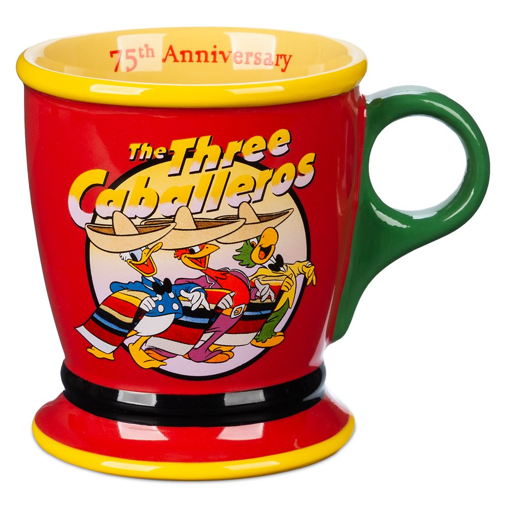 The Three Caballeros 75th Anniversary Mug