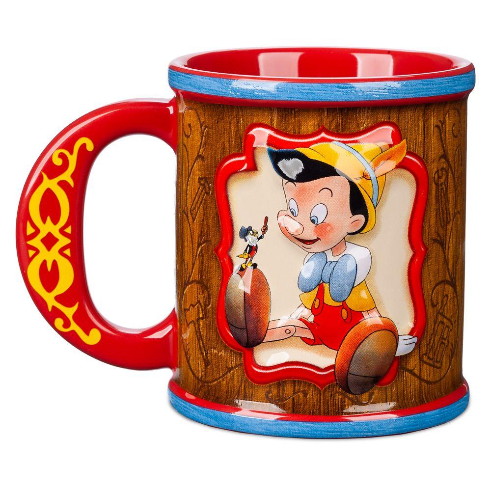 Pinocchio 80th Anniversary Mug