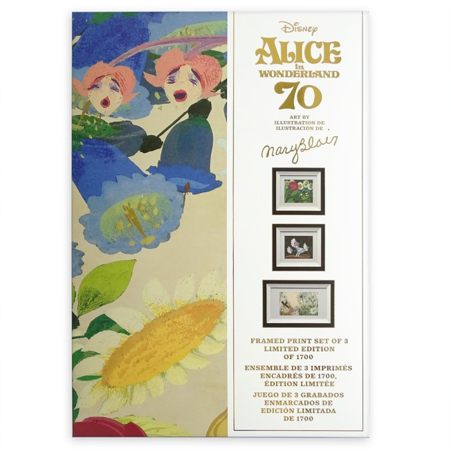 Alice in Wonderland by Mary Blair Framed Print Set – Limited Edition