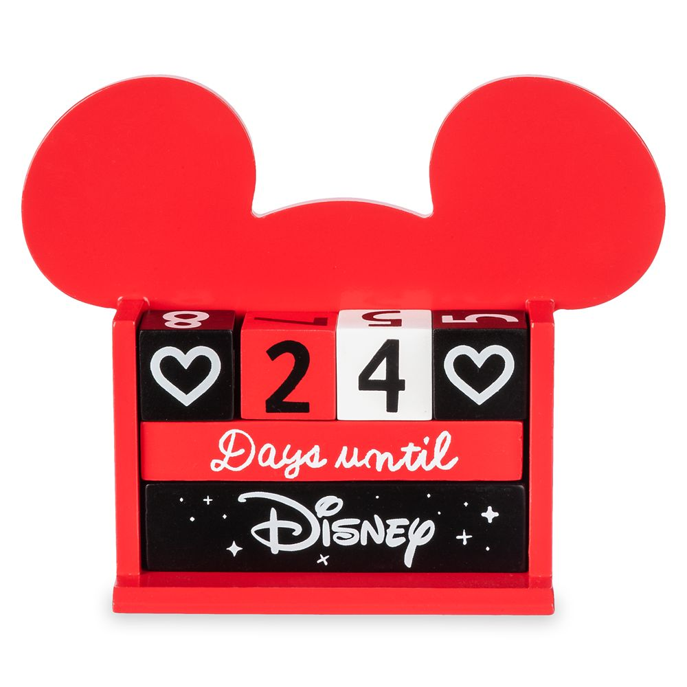 Mickey Mouse Countdown Block Calendar