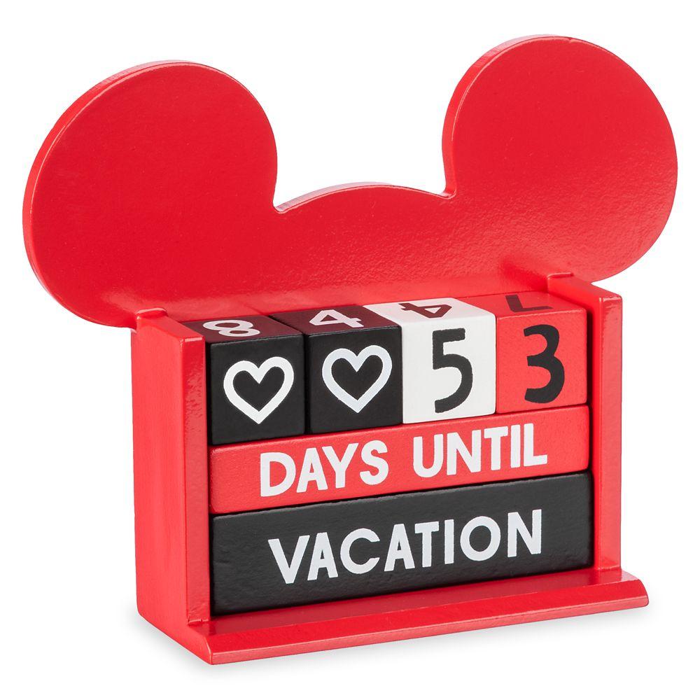 Mickey Mouse Countdown Block Calendar