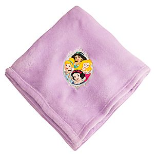 Disney Princess Fleece Throw - Personalizable