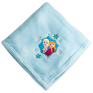 Anna and Elsa Fleece Throw