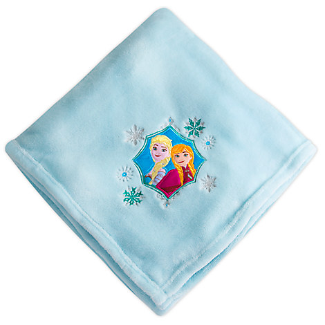 Anna and Elsa Fleece Throw - Personalizable
