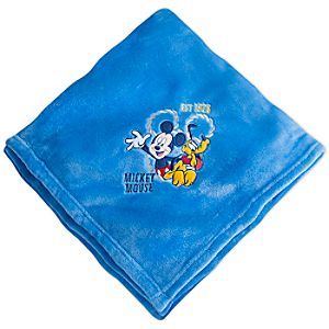 Mickey Mouse Fleece Throw - Personalizable