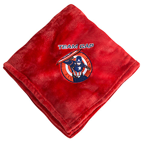 Captain America Fleece Throw - Personalizable
