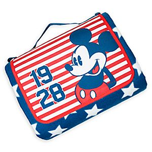 Mickey Mouse Americana Blanket