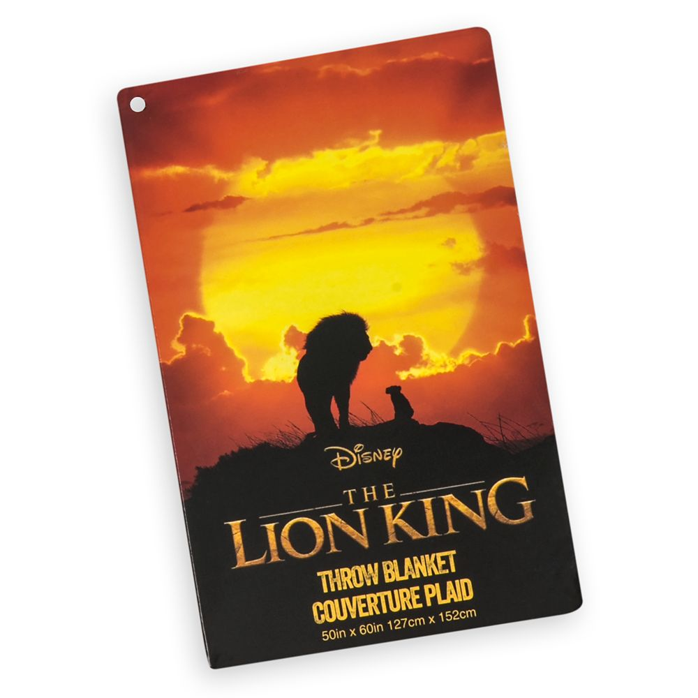 The Lion King Fleece Throw  – The Lion King 2019 Film