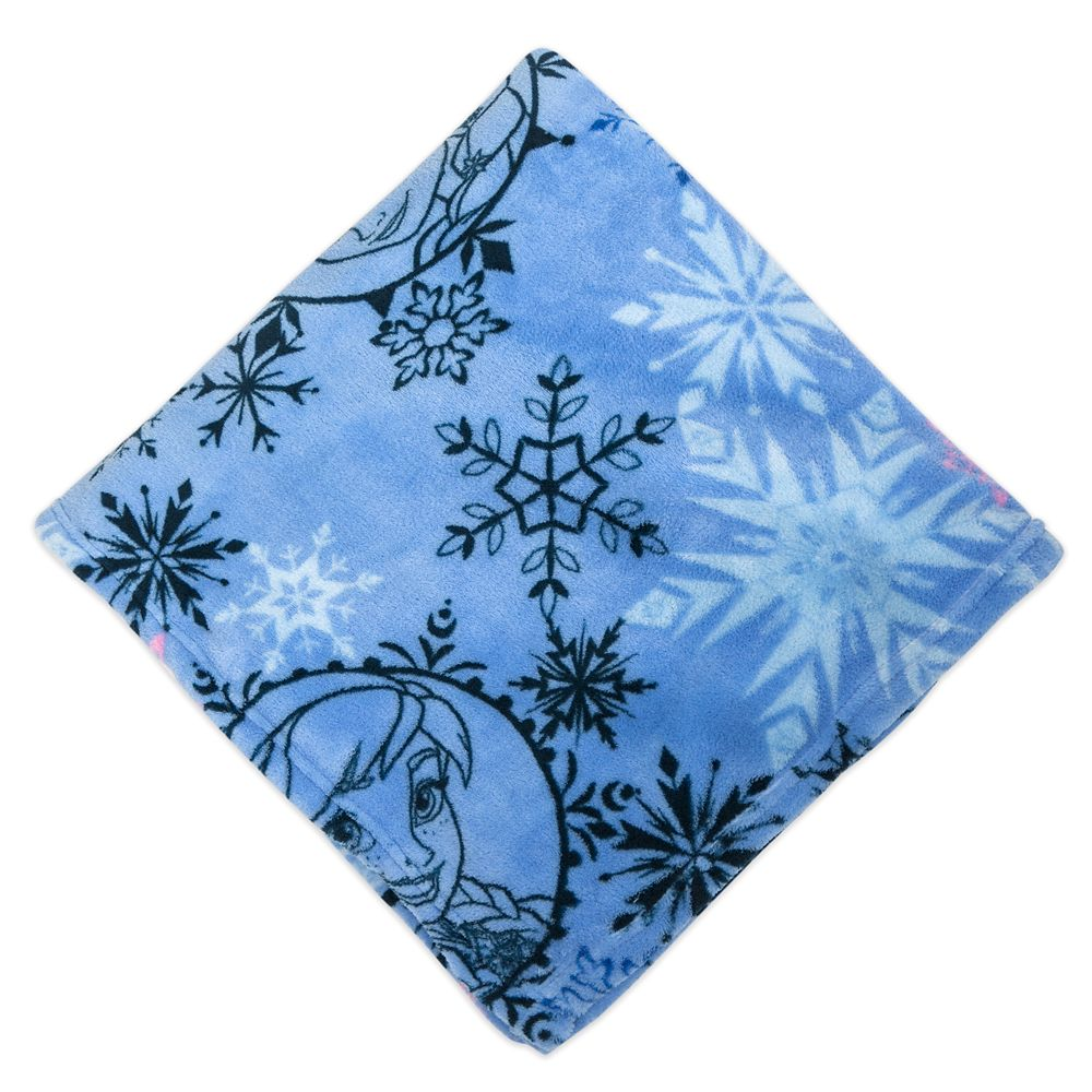 Frozen Fleece Throw - Personalized