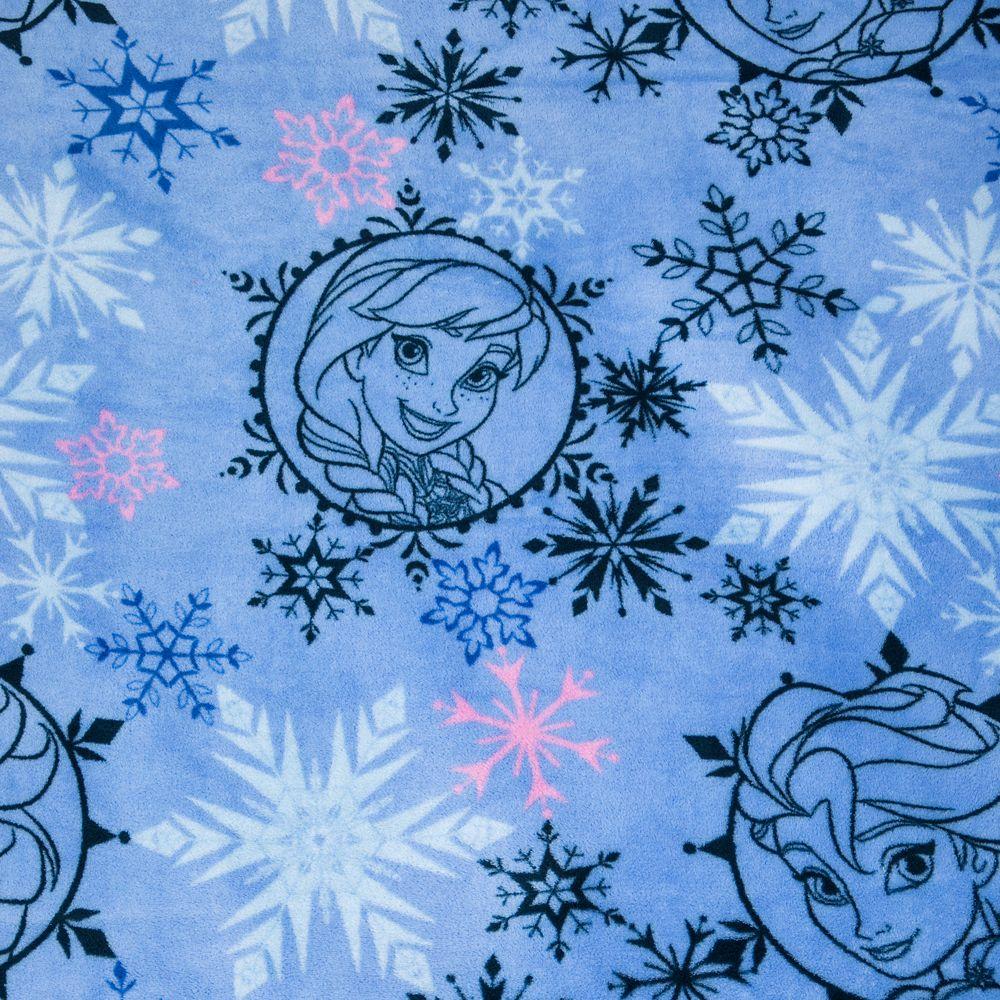 Frozen Fleece Throw
