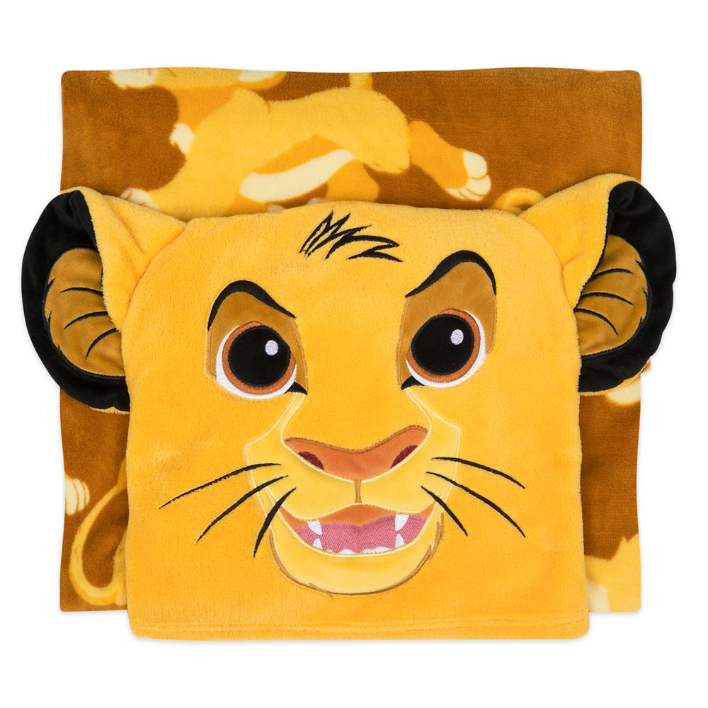 Simba Convertible Fleece Throw – Personalized