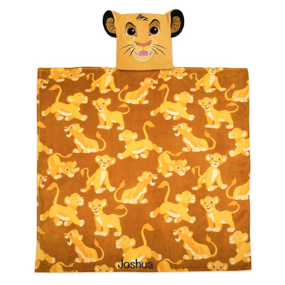 Simba Convertible Fleece Throw – Personalized