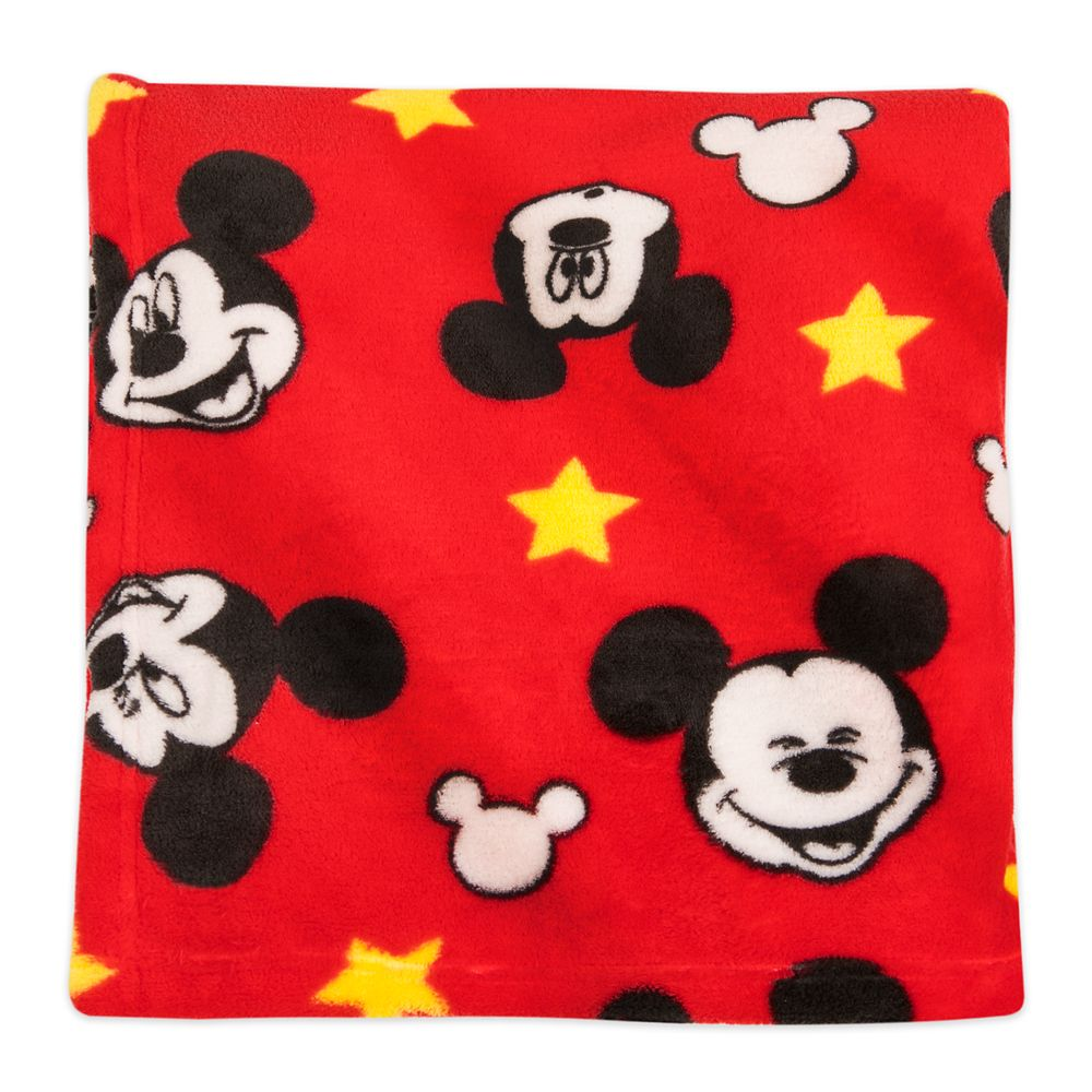 Mickey Mouse Fleece Throw  Personalized Official shopDisney