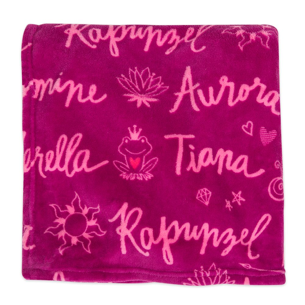 Disney Princess Fleece Throw – Personalized