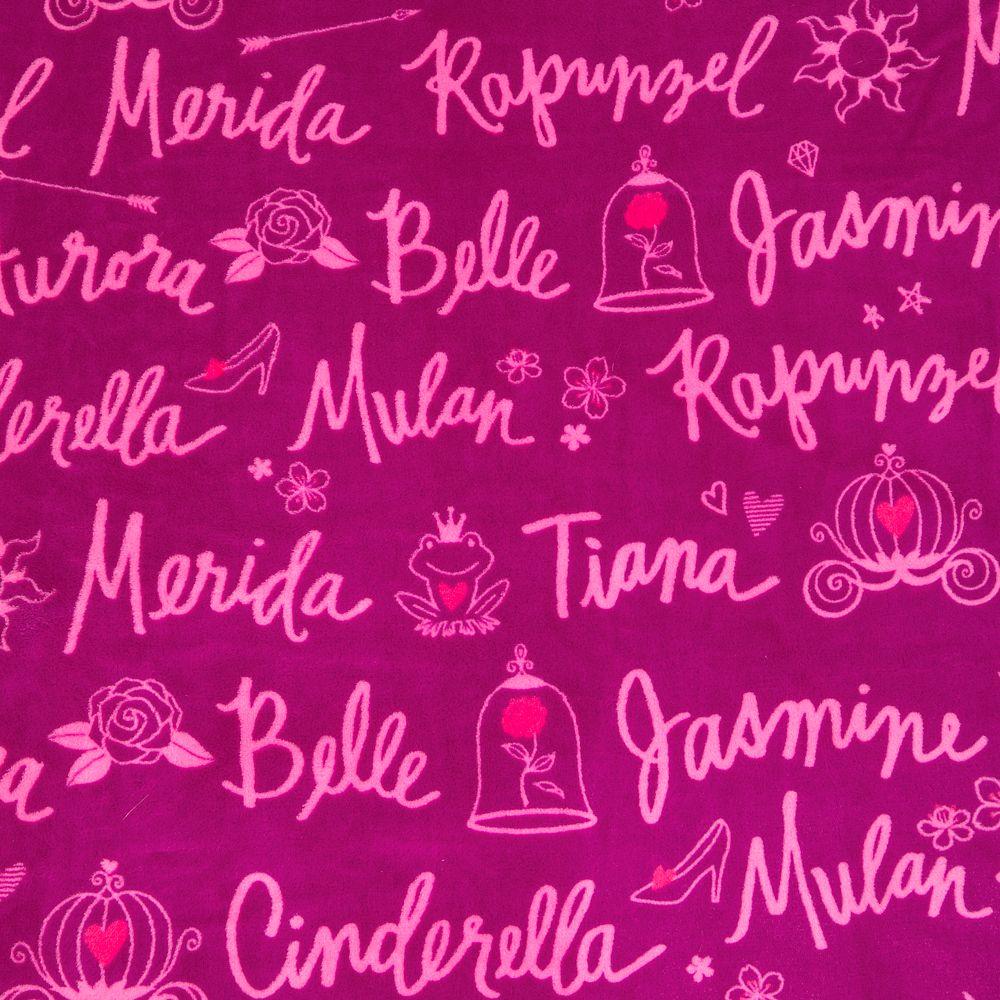 Disney Princess Fleece Throw – Personalized