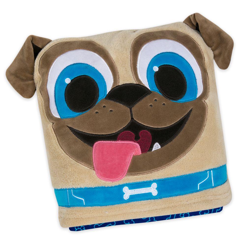 Rolly Convertible Fleece Throw – Puppy Dog Pals