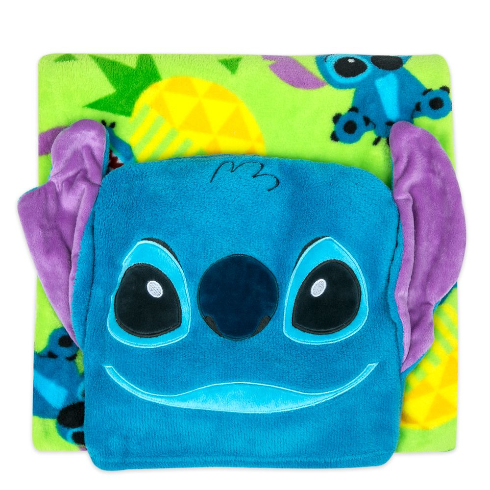 Stitch Convertible Fleece Throw