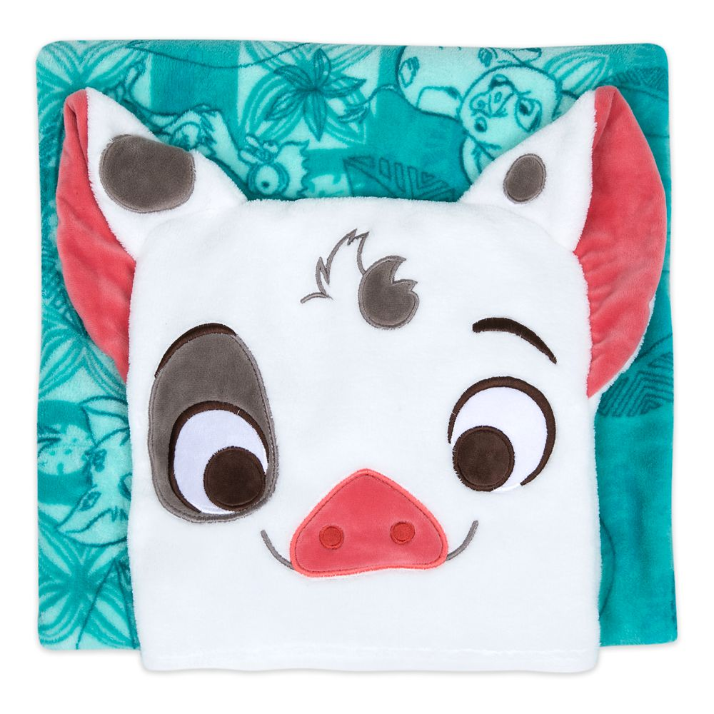 Pua Convertible Fleece Throw – Moana – Personalized