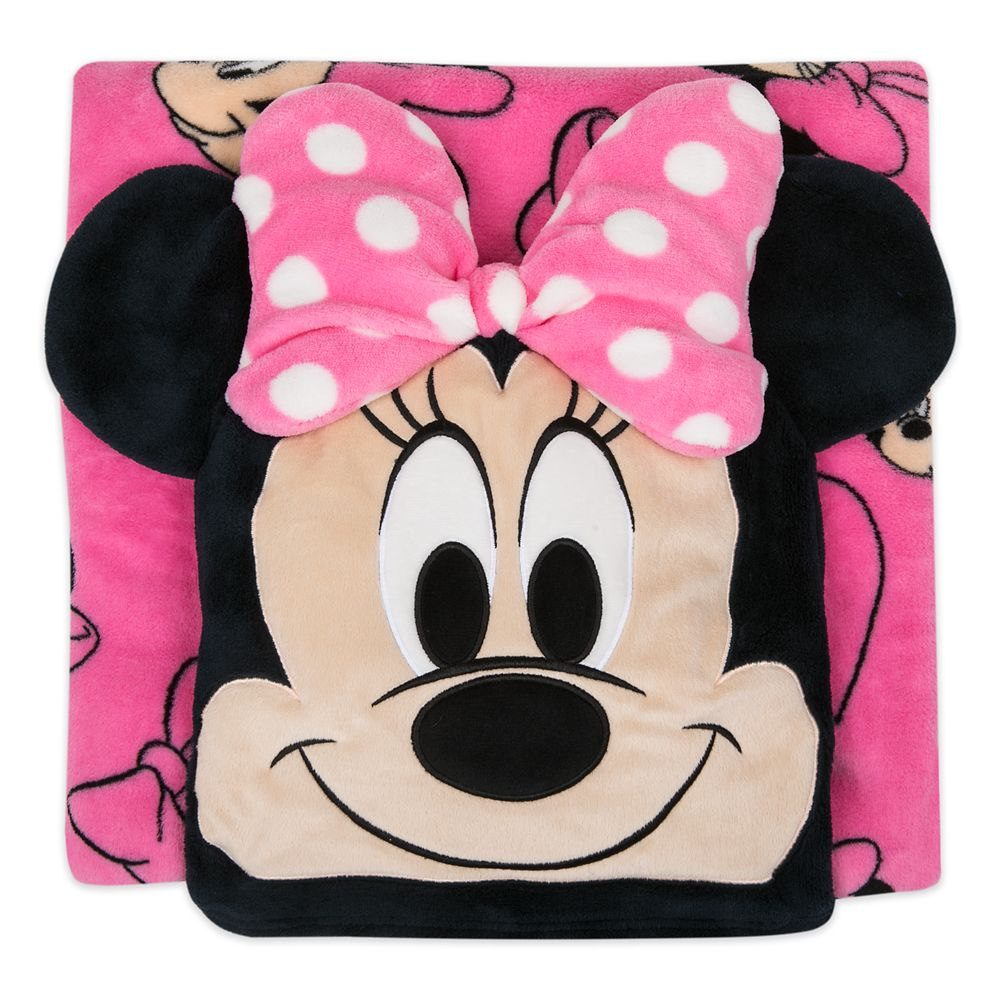 Minnie Mouse Convertible Fleece Throw