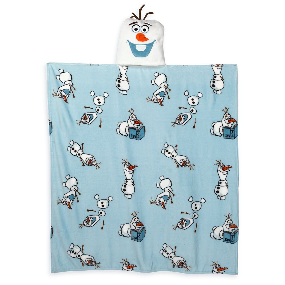 Olaf Convertible Fleece Throw – Frozen 2 – Personalized