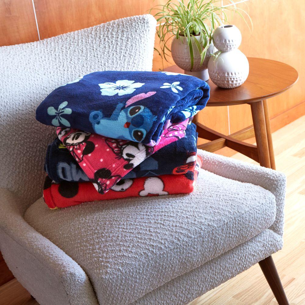 Stitch Fleece Throw - Personalized