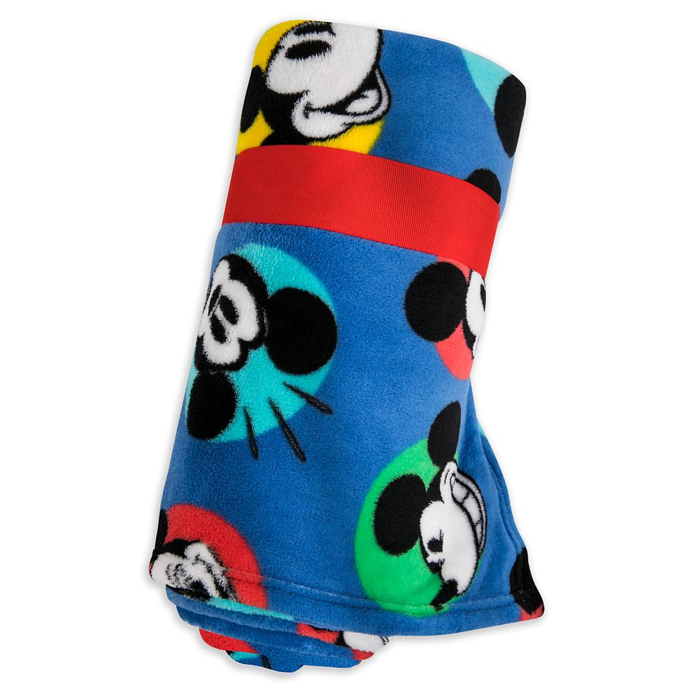 Mickey Mouse Fleece Throw