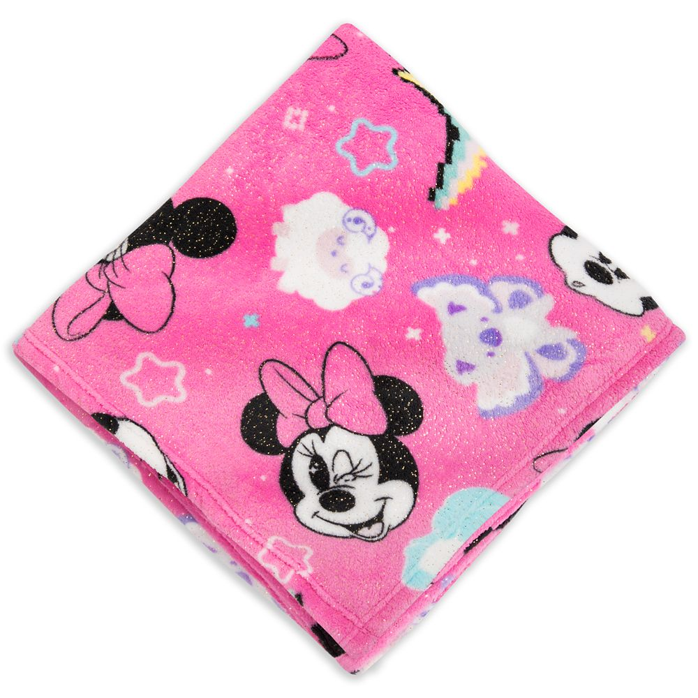 Minnie Mouse Fleece Throw – Personalized