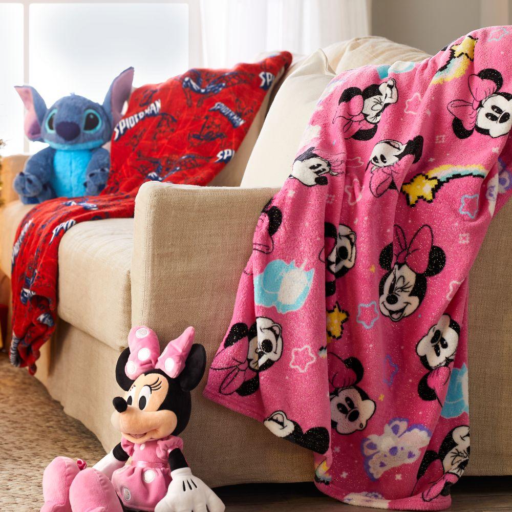 Minnie Mouse Fleece Throw