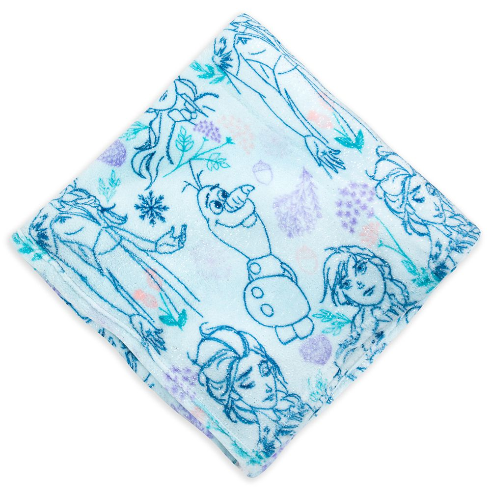 Frozen Fleece Throw