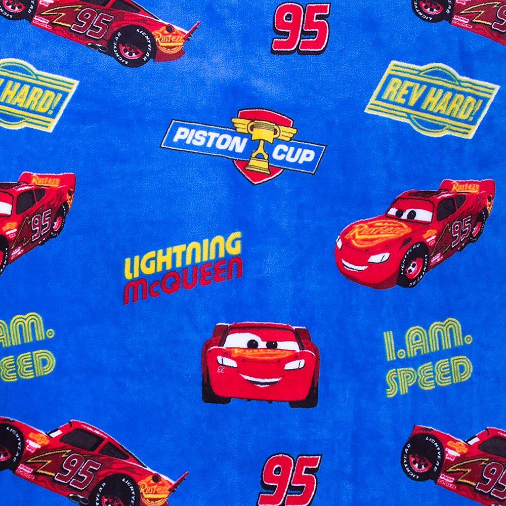Lightning McQueen Fleece Throw – Cars
