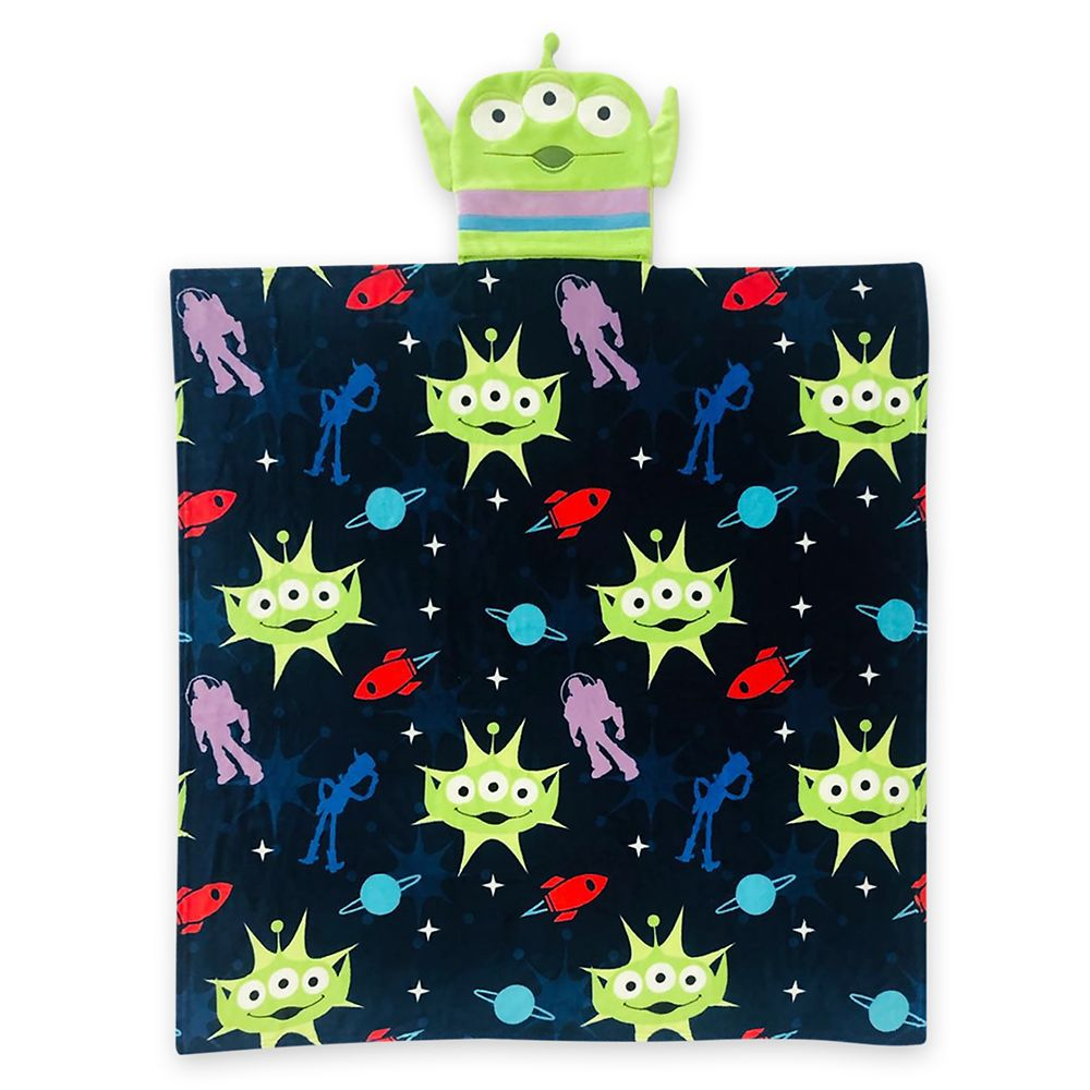Toy Story Alien Convertible Fleece Throw – Personalized
