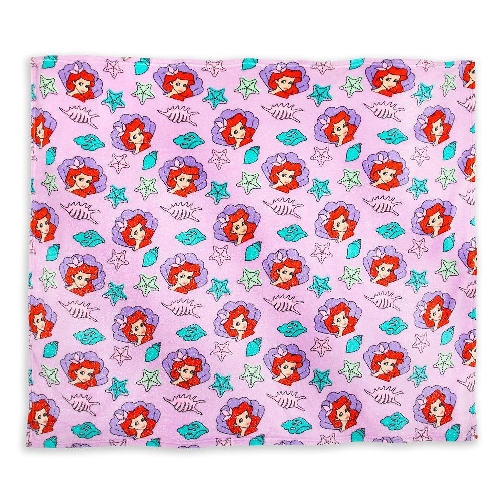 Ariel Fleece Throw – The Little Mermaid