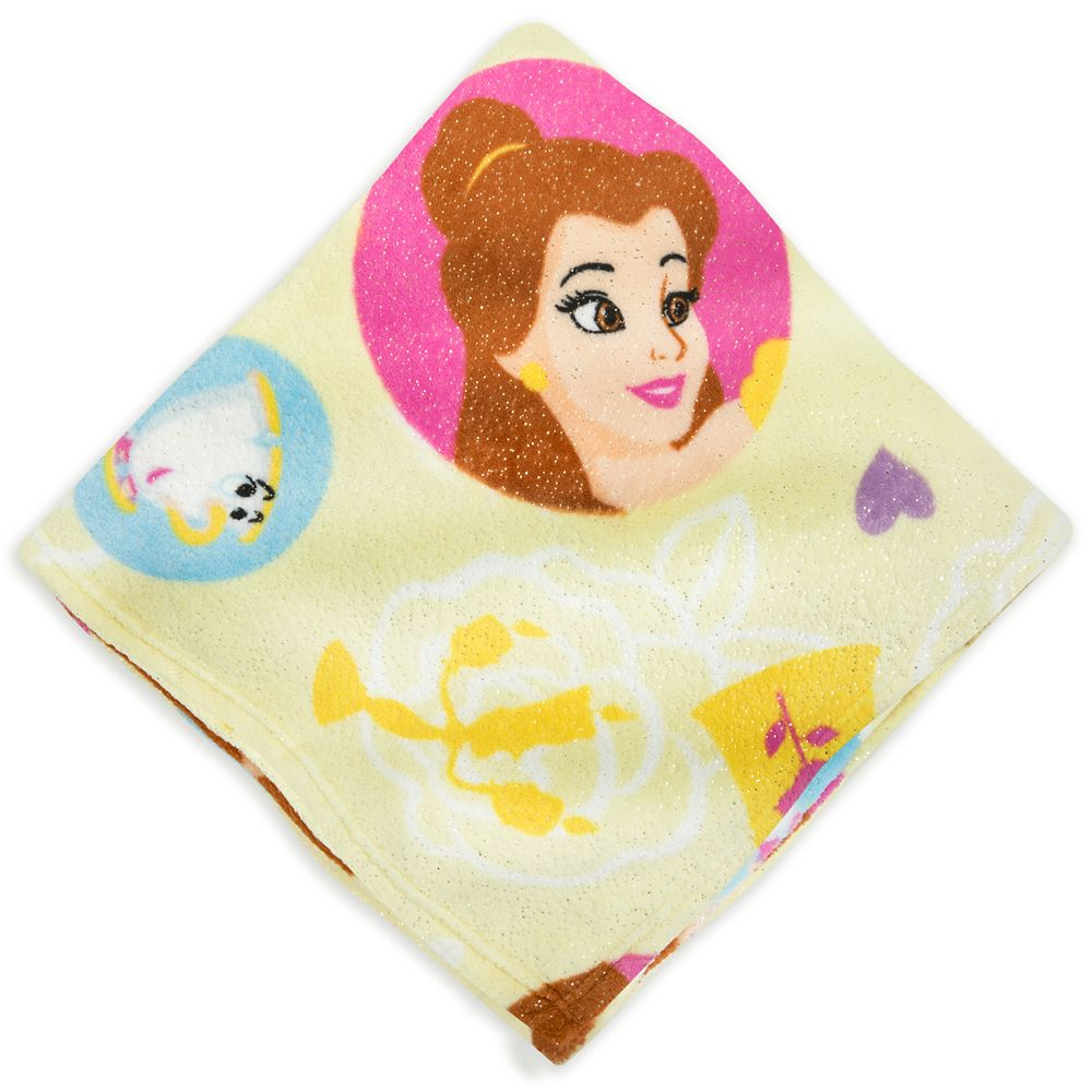 Belle Fleece Throw – Beauty and the Beast
