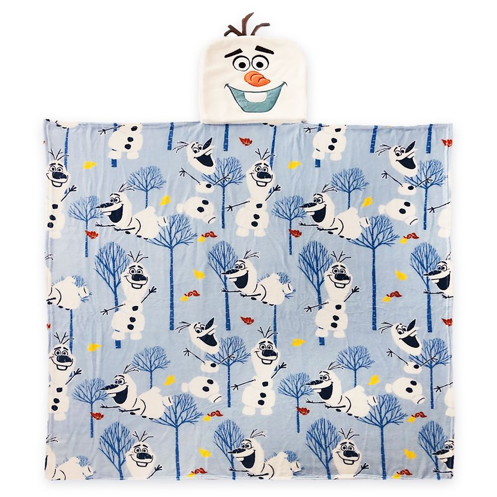 Olaf Convertible Fleece Throw – Frozen