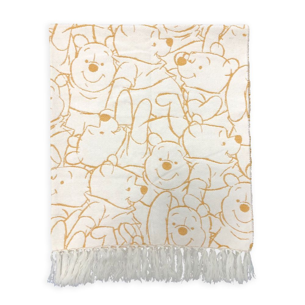 Winnie the Pooh Woven Throw Blanket for Adults