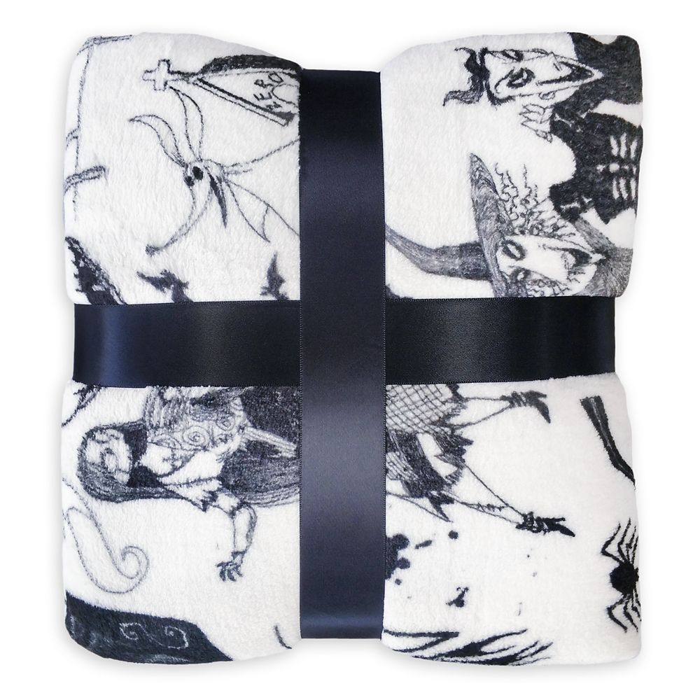 The Nightmare Before Christmas Fleece Throw