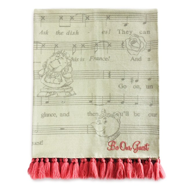 Beauty and the Beast Throw Blanket