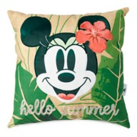 Minnie Mouse Tropical Pillow