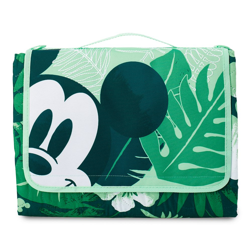 Mickey Mouse Tropical Picnic Blanket Official shopDisney
