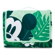 Mickey Mouse Tropical Picnic Blanket
