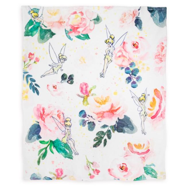 Tinker Bell Icon Floral Fleece Throw – Peter Pan