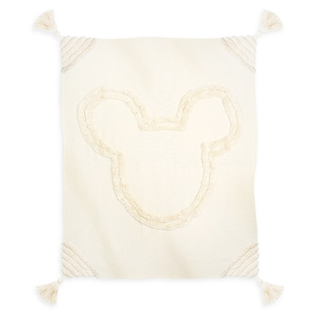 Mickey Mouse Icon Tufted Throw