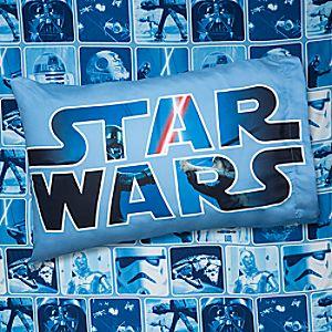 Star Wars Battle Sheet Set Twin Disney Store