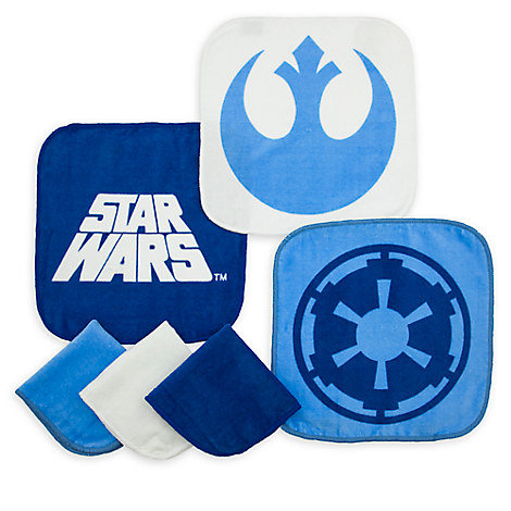 Star Wars Wash Cloth Set
