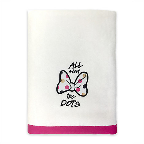 Minnie Mouse Bath Towel