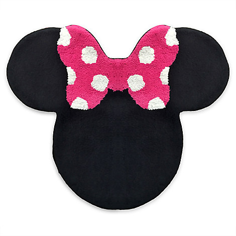 Minnie Mouse Bath Rug