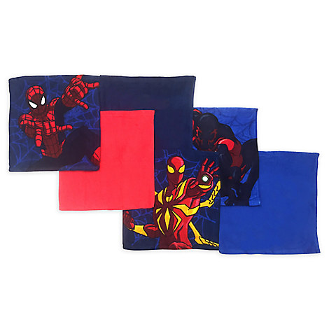 Spider-Man Wash Cloth Set