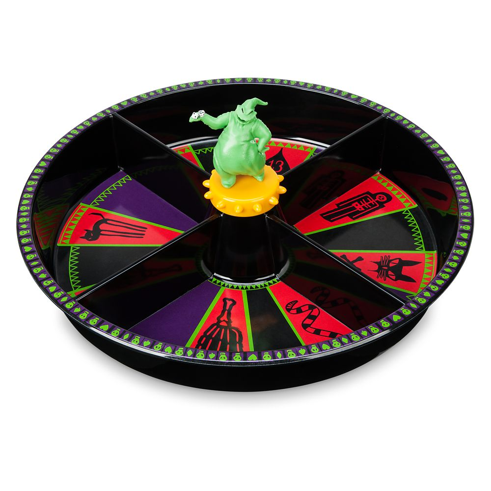 Oogie Boogie Roulette Candy Dish – The Nightmare Before Christmas